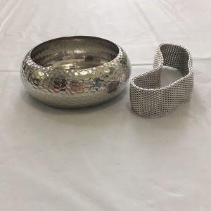 Silver bracelets❤️